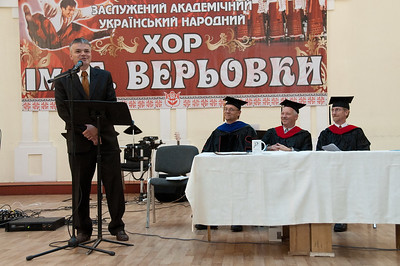 ERSU Seminary Graduation 2010 - address from Chairman of the Board, Cor Harryvan