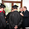 ERSU Seminary Graduation 2010 - Staff & Graduates prepare for the ceremony