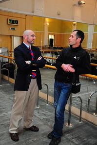 ERSU Graduation 2011 - Guy Richard with student