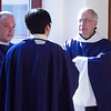 Twenty seminarians made their priesthood promises during a ceremony in the St. Thomas Aquinas Chapel on Thursday, March 15, 2018.