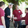 Orientation staff help the new seminarians move in on Friday, August 21, 2015.