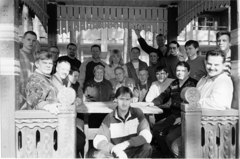 2nd Class of ERSU students at Sanitorium near Kyiv