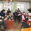Clay teaching ERSU seminary class on Ecclesiology - , Jan '09