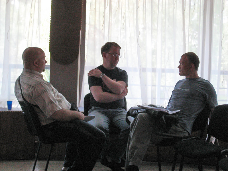 ERSU seminary session - Counseling class - small group discussion