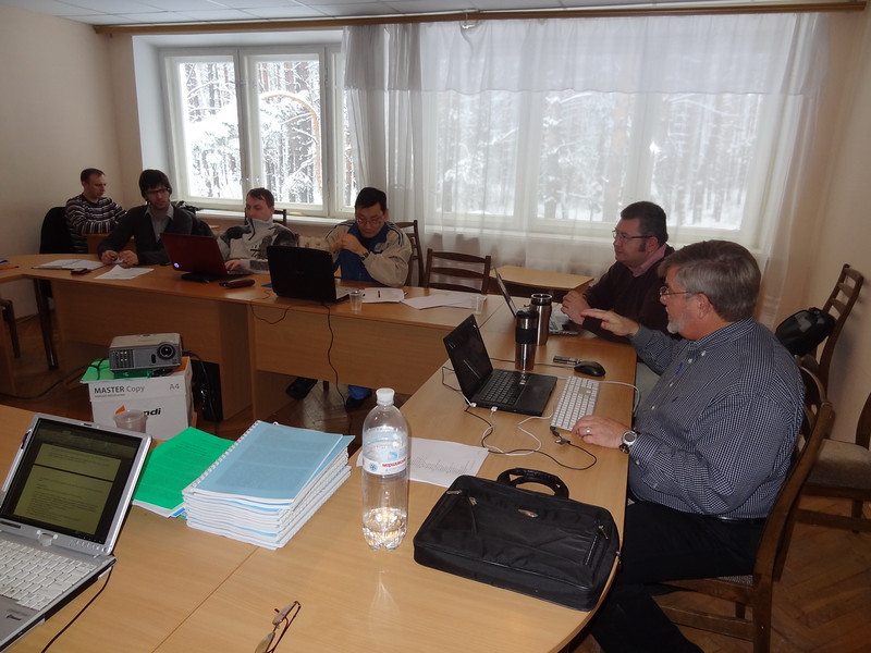 ERSU Seminary session - January -  snow - Will Traub & Sergei Nakul -
