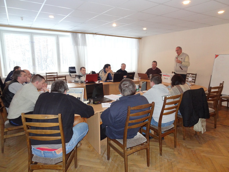 ERSU Seminary session - January -  snow - Nelson Kloosterman -