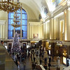 Kyiv Train station - Christmas tree