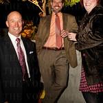 Brad DeVries with John and Margot Lipinski.