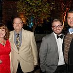 Karen and Tom Hoffman with Derek Stephens and Eric Cowley.