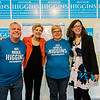 Guests gather at the home of Natalie Higgins, Democratic candidate for Leominster State Representative, on Saturday afternoon as U.S. Sen. Elizabeth Warren visits to endorse Higgins for the seat. SENTINEL & ENTERPRISE / Ashley Green