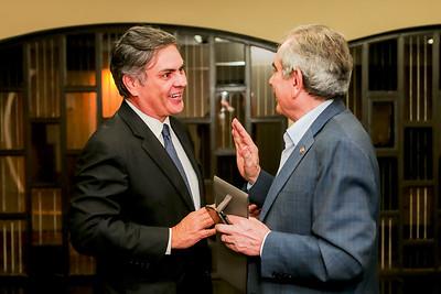 Senador Cassio Cunha Lima e Senador Raimundo Lira