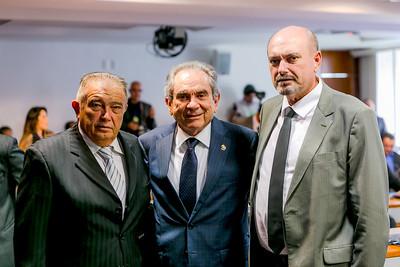Deputado Renato Gadelha, Senador Raimundo Lira e Deputado Estadual Jeová Campos