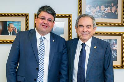 170418  Advogado Eduardo Johnson, Senador Raimundo Lira _Foto Felipe Menezes_002_