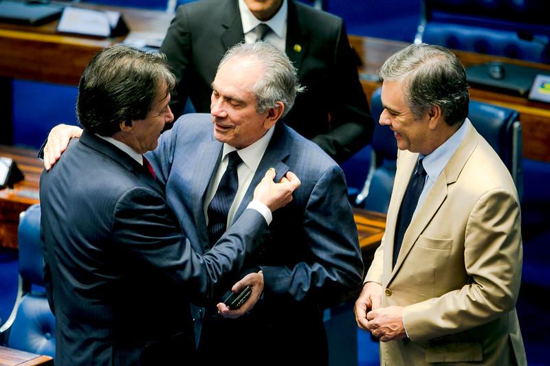 240418  Senador Eunicio, Senador Raimundo Lira e Senador Cassio Cunha _Foto Felipe Menezes_001_