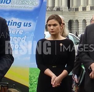 Finkenauer  at National Biodiesel Board Press Conference in Washington, DC