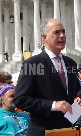 Bob Casey At Press Conference Against Graham-Cassidy Bill In Washington, DC