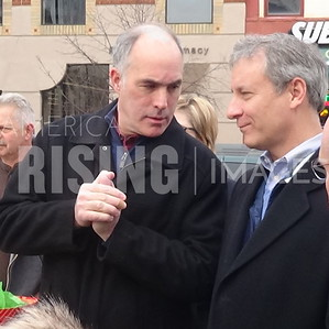 Bob Casey At Rally Against GOP Tax Bill In Scranton, PA