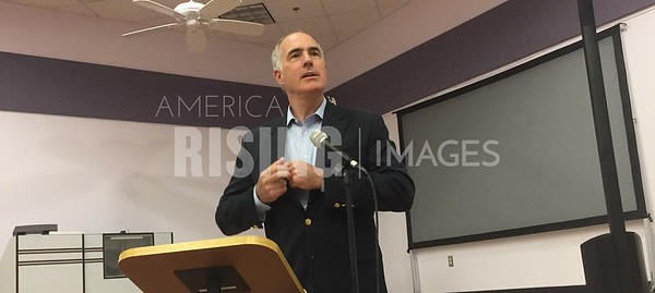 Bob Casey At The Center At The Mall In Beaver, PA