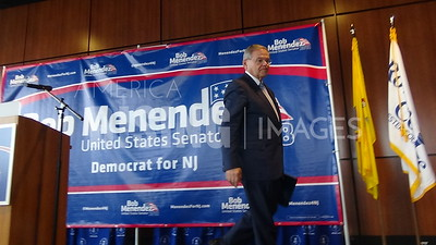 Bob Menendez At Campaign Kick Off In Sewell, NJ