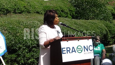 Cheri Beasley attends a Women's (IN)Equality Day celebration at the North Carolina General Assembly in Raleigh, NC