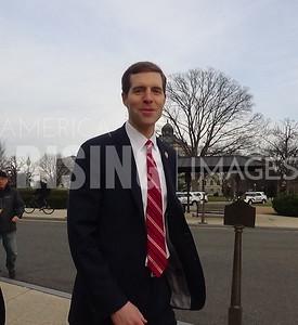 Conor Lamb Outside Capitol In Washington, DC