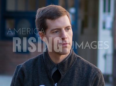 Conor Lamb At SEIU Rally In Washington, PA