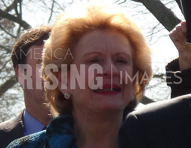 Debbie Stabenow At Bicameral Dems Press Conference On Net Neutrality In Washington, DC