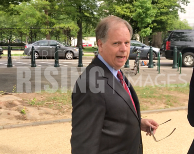 Doug Jones at Medicaid Press Conference in Washington, DC