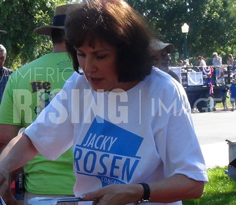Jacky Rosen At 4th Of July Celebration In Boulder City, NV