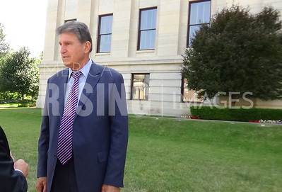 Joe Manchin At Pension Field Hearing In Columbus, OH