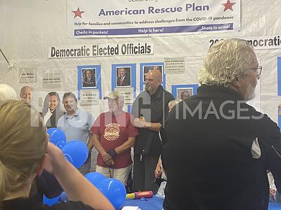 John Fetterman Attends Huntingdon County Fair in  Huntingdon, PA
