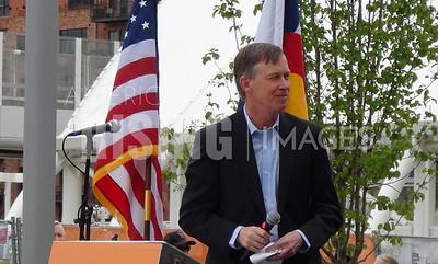 John Hickenlooper At Union Station Grand Opening In Denver, CO