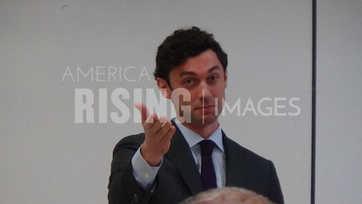 "Jon Ossoff speaks at ""be an informed voter"""