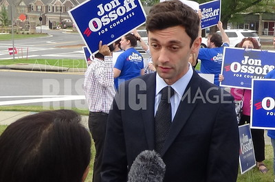 Jon Ossoff At Early Vote Rally In Johns Creek, GA