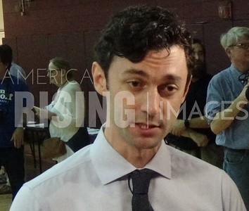 Jon Ossoff Attends Voter Registration Rally In Atlanta, GA