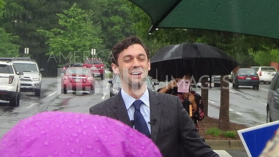 Jon Ossoff At Early Vote Rally In Marietta, GA