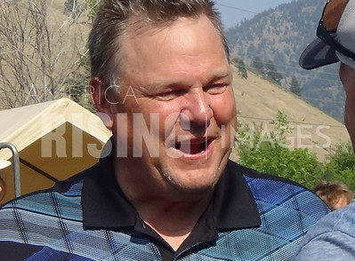 Jon Tester At Pearl Jam Rock The Vote Festival In Missoula, MT