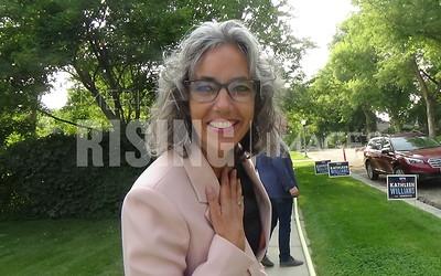 Kathleen Williams At Fundraiser In Billings, MT