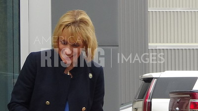 Maggie Hassan At Methuen Construction Headquarters Ribbon-Cutting Ceremony In Plaistow, NH