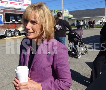 Maggie Hassan At Deerfield Fair Opening Ceremony In Deerfield, NH