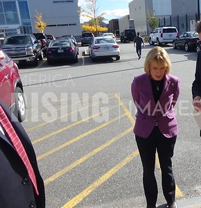 Maggie Hassan At Red Ribbon Week At Manchester Police Department In Manchester, NH