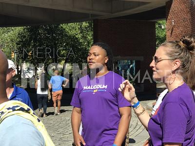 Malcolm Kenyatta Attends Labor Day Parade in Philadelphia, PA