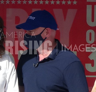 """Mark Kelly attends an """"I Voted Early"""" Party at 325 E Baseline Rd in Phoenix, AZ"""