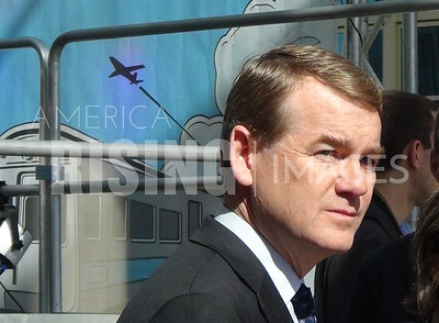 Michael Bennet At RTD Grand Opening In Denver, CO