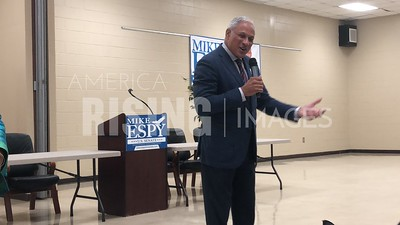 Mike Espy at Town Hall In Greenville, MS