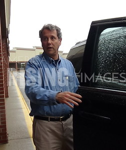 Sherrod Brown At Campaign Rally In Brunswick. OH