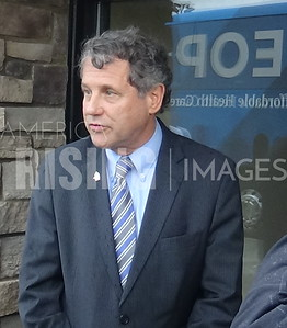 Sherrod Brown at OLBC #PowerTheBlackVote Bus Tour In Canton, OH