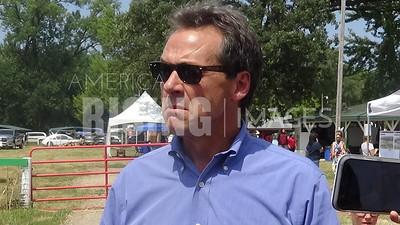 Steve Bullock attends pow wow in Tama, IA