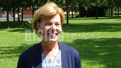 Tammy Baldwin At GET FIRED UP For TAMMY At Lions Park In Appleton, WI