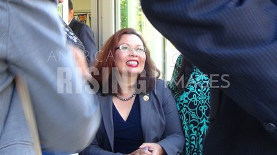 Tammy Duckworth At Bicameral Democrats Roundtable At The Resurrection Project - La Casa In Chicago, IL